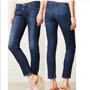 AG Stevie Ankle Slim Straight Ankle Jeans